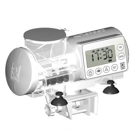 JBL AutoFood white - Автоматическая кормушка для аквариумных рыб, цвет белый