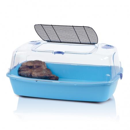 Имак террариум д/черепах закр. SANTE FE с фонтан-островом электр., 54х39х27см (57199)