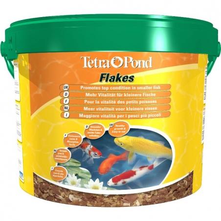 Корм для прудовых рыб Tetra Pond Flakes 10л
