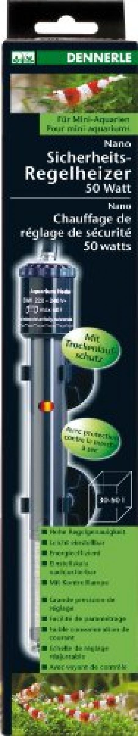 Нагреватель погружной Dennerle Nano Heater 100Вт