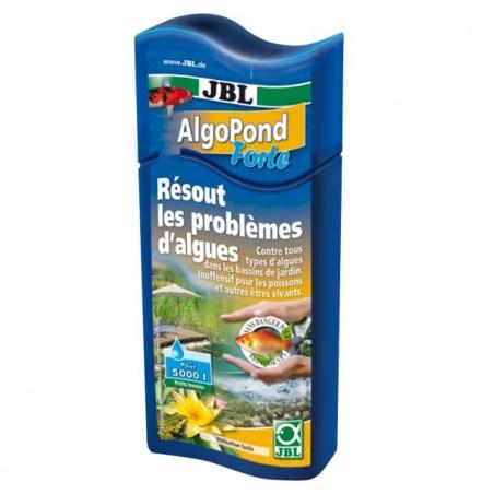 JBL AlgoPond Forte 250 мл - Средство для устранения водорослей в пруду (альгицид)