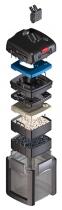 Фильтр внешний EHEIM PROFESSIONEL 4+ 250  -  для аквариумов от 120 до 250 л, производительность 950 л/ч. НОВИНКА! - 1