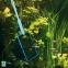 Сачок аквариумный JBL премиум, мелкие ячейки, черный, 20 см - 1