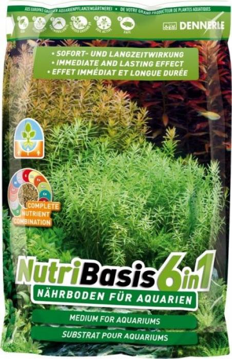 Питательный грунт Dennerle NutriBasis 6in1 4,8 кг