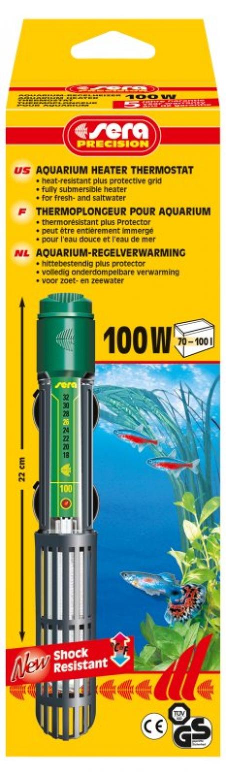 Нагреватель погружной Sera delta heater 100 W