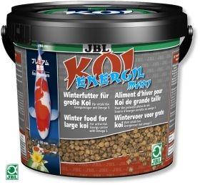 JBL Koi Energil maxi 5,5л - Корм для пруда в виде палочек для кормления карпов Кои крупного размера в холодное время года