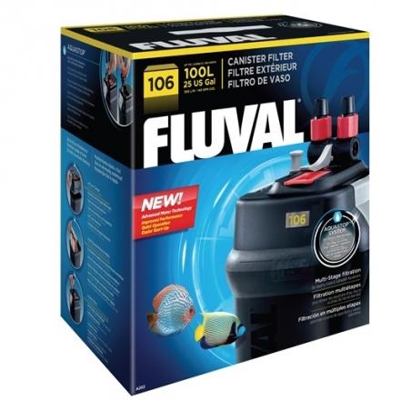 Fluval 106 - внешний фильтр для аквариумов до 100 литров