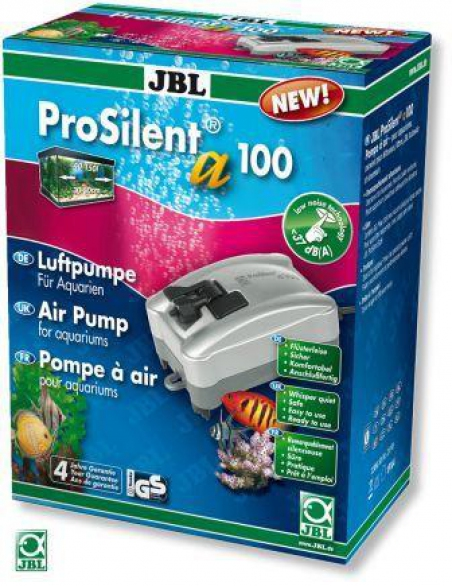 JBL ProSilent a100. Компрессор для аквариумов от 40 до 150 л