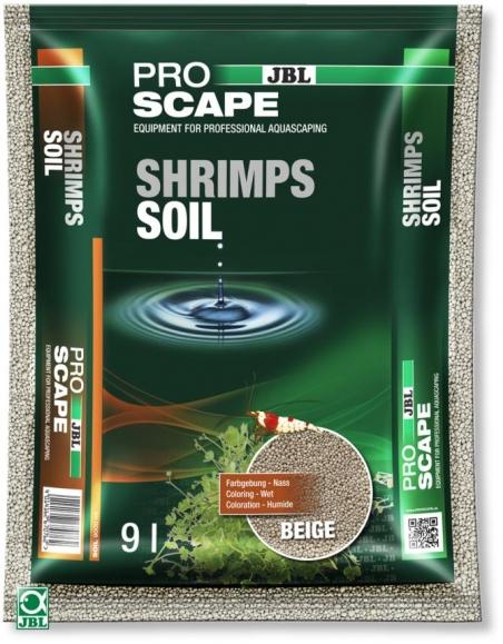 JBL ProScape ShrimpsSoil BEIGE, 9 л - Питательный грунт для аквариумов с креветками