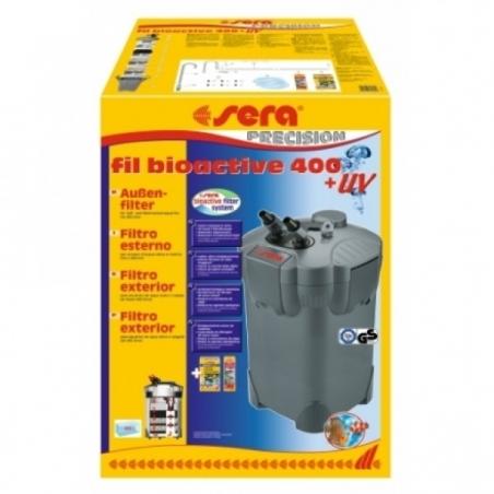 Sera fil bioactive 400 + UV. Внешний фильтр для аквариума до 400 л. с УФ - стерилизатором