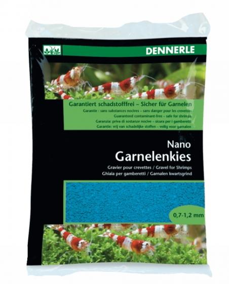 Аквариумный грунт Dennerle Nano Garnelenkies Azure blue 2кг