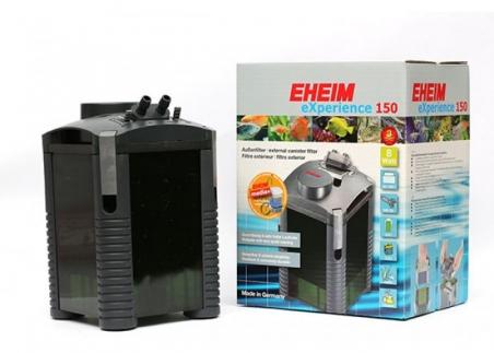 Фильтр внешний EHEIM EXPERIENCE 150 -  для аквариумов от 80 до 150 л, производительность 500 л/ч. Фильтр полностью укомплектован фильтрующими материалами.