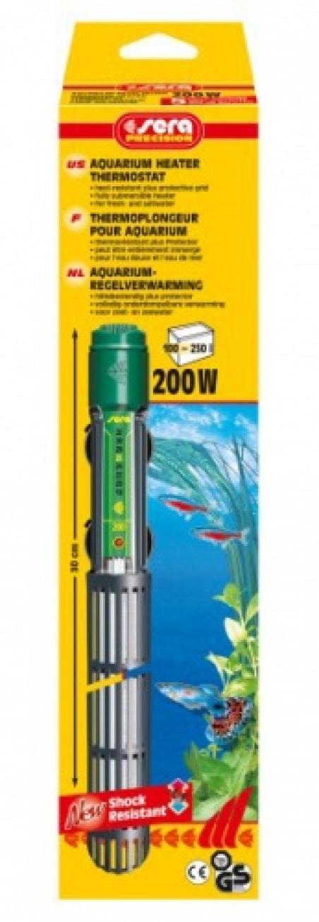 Нагреватель погружной Sera delta heater 200 W