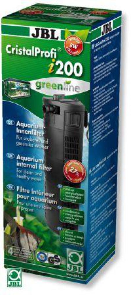 JBL CristalProfi i200 greenline. Внутренний фильтр для аквариума 130-200 литров