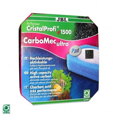 Наполнитель для фильтра JBL CarboMec ultra Pad CP e1501, e1901 - активированный уголь для фильтров JBL CristalProfi е