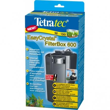 Фильтр внутренний Tetra EasyCrystal FilterBox 600 для аквариумов от 50 до 150 л.