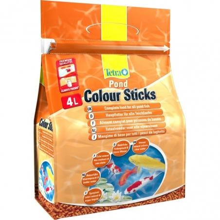 Корм для прудовых рыб Tetra Pond ColorSticks 4л