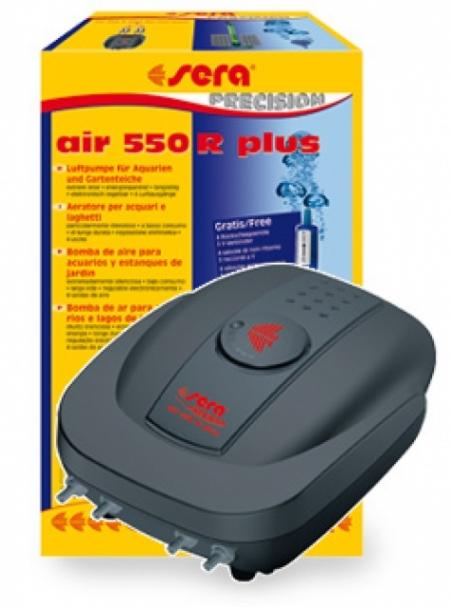 Компрессор Sera air 550 R plus для аквариумов до 500 л. с электронной регулировкой