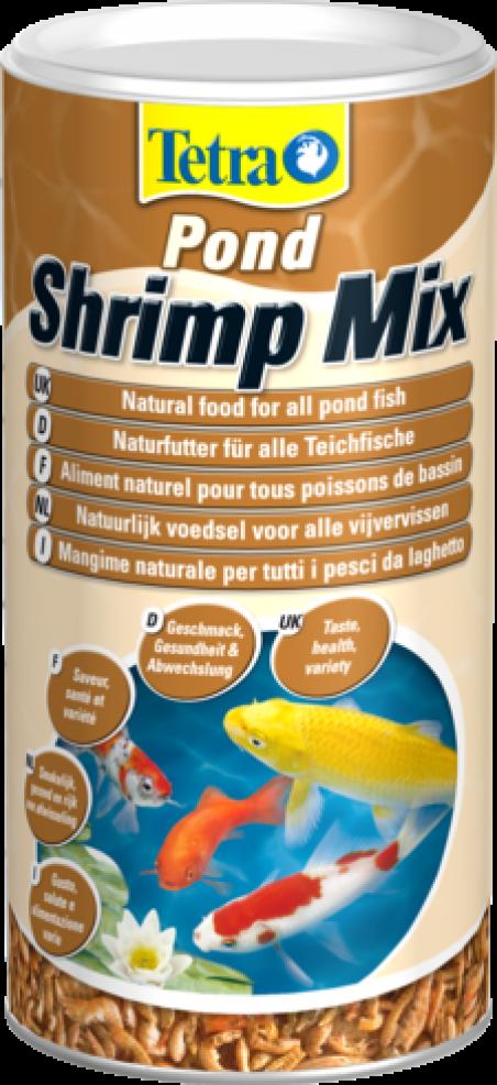 Корм для прудовых рыб Tetra Pond Shrimp Mix 1л
