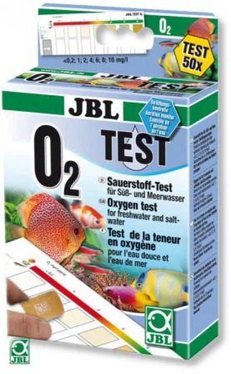 JBL Sauerstoff Test Set - Тест для измерения содержания кислорода (O2) в пресной и морской воде, а также в прудах