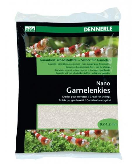 Аквариумный грунт Dennerle Nano Garnelenkies Sunda white 2кг