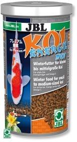 JBL Koi Energil midi 1л - Корм для пруда в виде палочек для кормления карпов Кои среднего размера в холодное время года