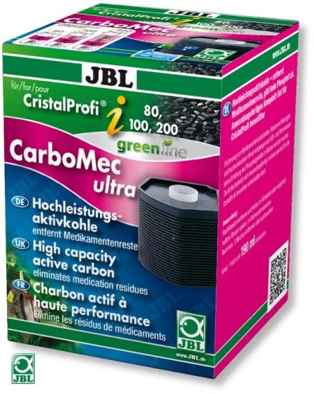 Наполнитель для фильтра JBL CarboMec ultra CP i - активированный уголь для фильтров JBL CristalProfi i80-i200