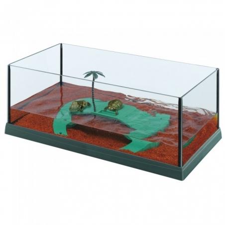 Палюдариум FERPLAST HAITI 50 для черепах, зеленый
