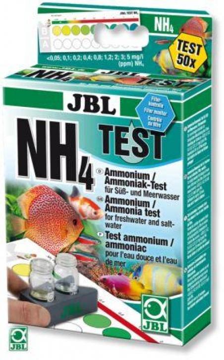 JBL Ammonium Test Set - Тест для определения содержания аммония (NH4) в пресной и морской воде