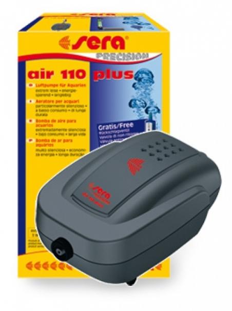 Компрессор Sera air 110 plus для аквариумов до 100 л.