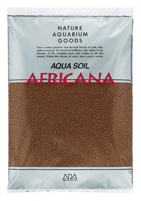 Грунт ADA Aqua Soil Africana Powder, 3 л - Основной питательный субстрат