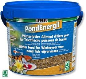 JBL Pond Energil 5,5л - Корм для всех видов прудовых рыб в виде палочек при низких температурах