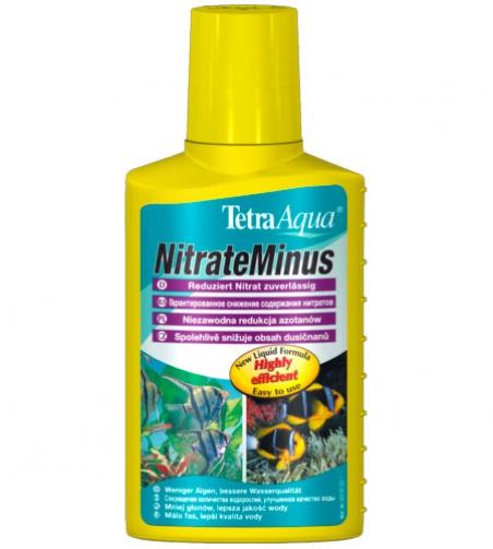 Средство для снижения уровня нитратов и контроля над водорослями Tetra NitrateMinus 100 мл (рассчитан на 400л)