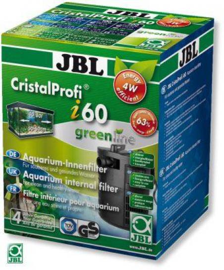 JBL CristalProfi i60 greenline. Внутренний фильтр для аквариума 40-80 литров
