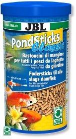 JBL Pond Sticks Classic 1л - Корм для всех видов прудовых рыб в виде палочек