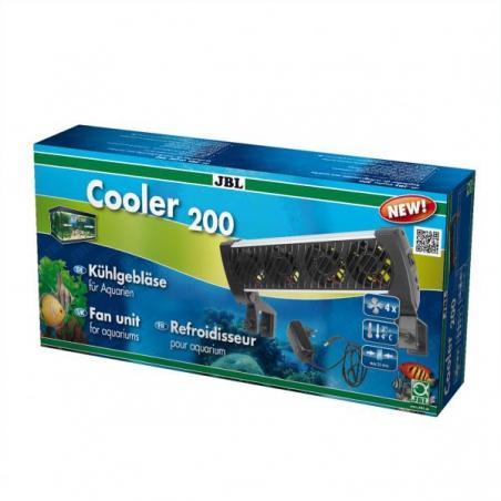 Вентилятор JBL Cooler 200 - используется для охлаждения воды в аквариумах от 100 до 200 л
