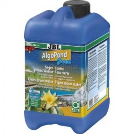 JBL AlgoPond Green 2,5 л - Средство для устранения одноклеточных водорослей в пруду (эффект цветения воды)