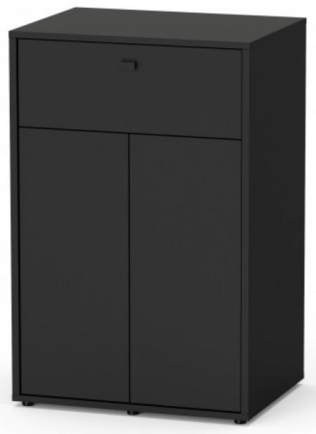 TERRARIUM Smart Line Тумба 60х45х90, черный (001)