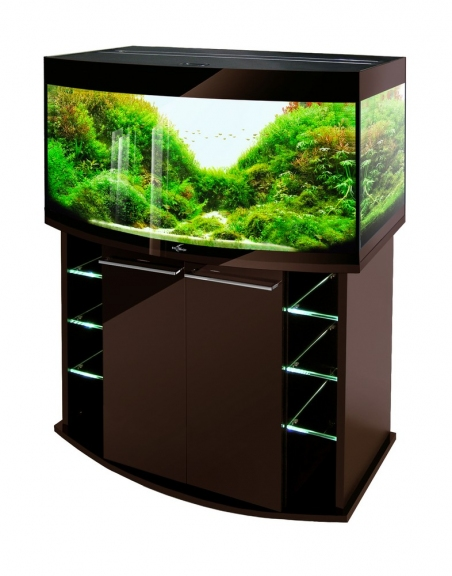 Аквариум Биодизайн Crystal Panoramic 210 освещение LED