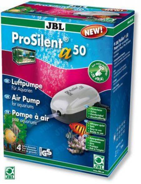 JBL ProSilent a50. Компрессор для аквариумов от 10 до 50 л