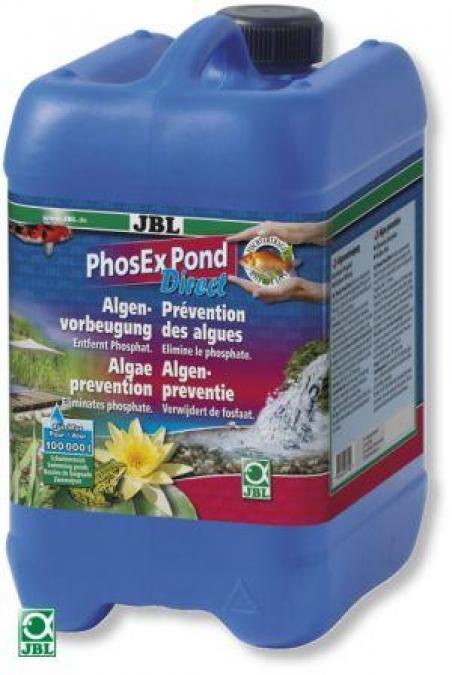 JBL PhosEx Pond Direct 5 л - Средство для устранения фосфатов в пруду
