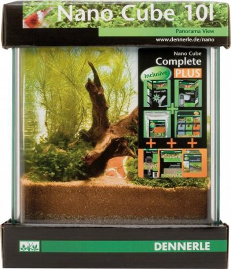 Аквариум Dennerle NanoCube Complete PLUS 10 литров Полный комплект Плюс