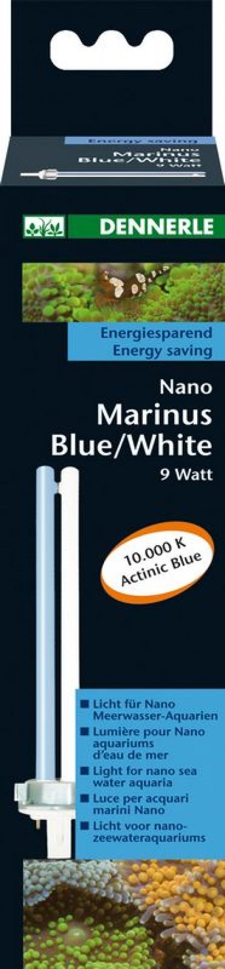 Лампа Dennerle Nano Marinus Blue White 9Вт