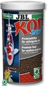 JBL Koi midi 1л - Корм для пруда в виде гранул для карпов Кои среднего размера