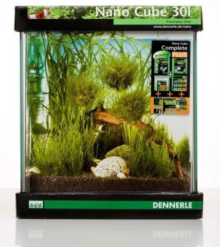 Аквариум Dennerle NanoCube Complete PLUS 30 литров Полный комплект Плюс
