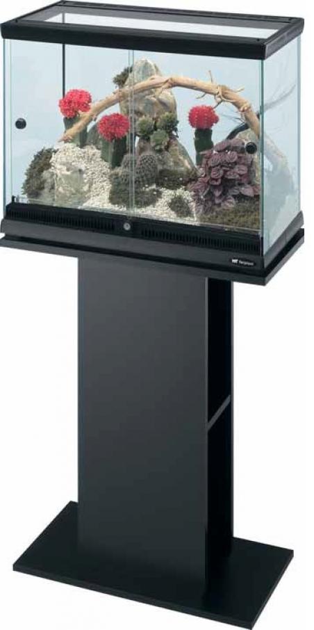 Террариум стеклянный FERPLAST EXPLORA 50 черный