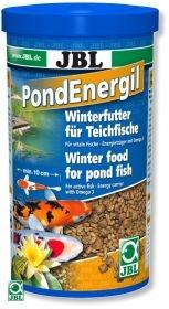 JBL Pond Energil 1л - Корм для всех видов прудовых рыб в виде палочек при низких температурах