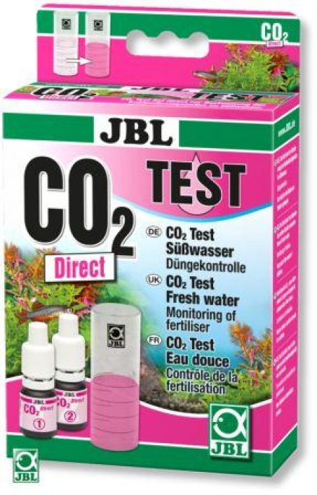 JBL CO2 Direct Test Set - Тест для измерения содержания углекислого газа (CO2) в аквариумной воде