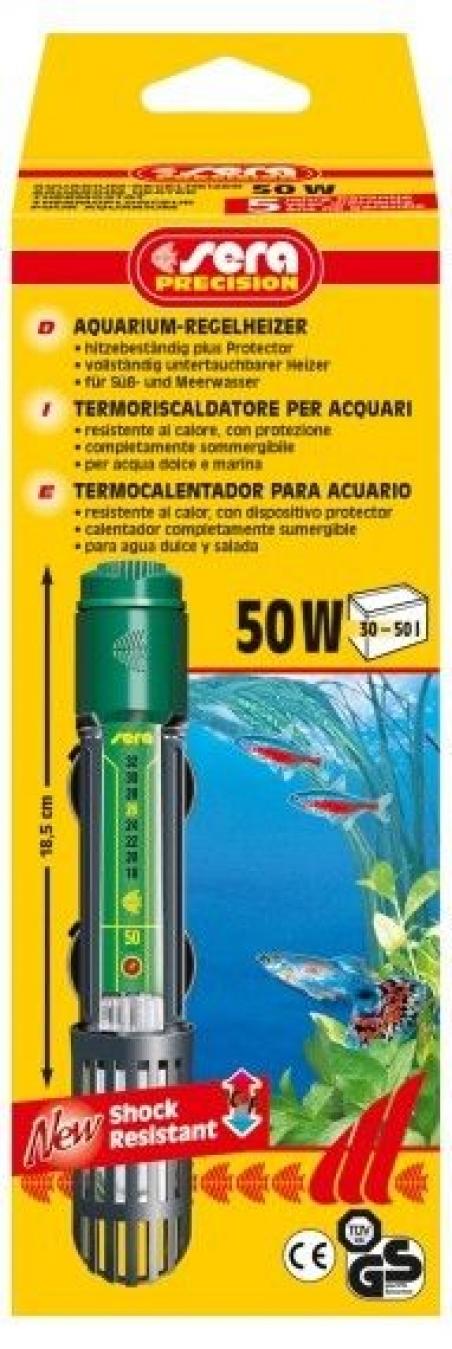Нагреватель погружной Sera delta heater 50 W