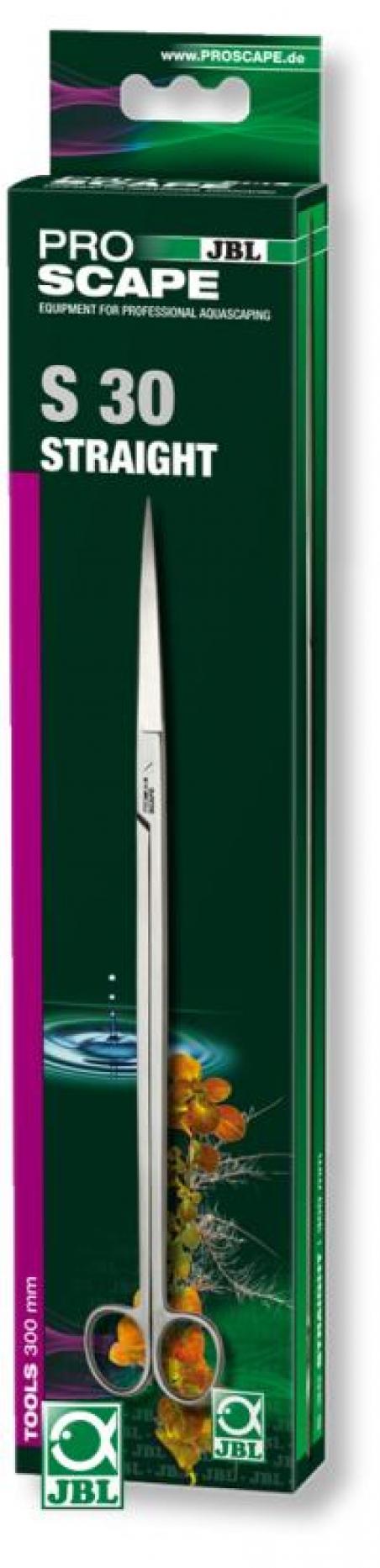 JBL ProScape Tool S straight, 30 см - Прямые ножницы для ухода за растениями в аквариуме